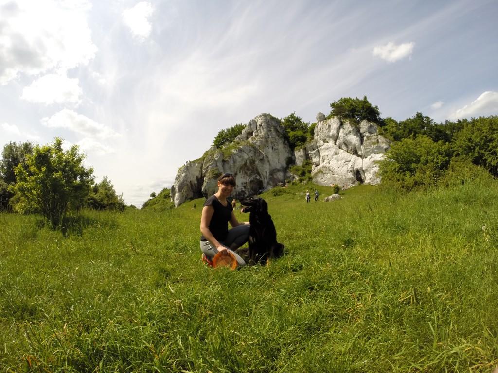 Rzędkowice - polana zwana Patelnią, idealna na szybką rozgrywkę Frisbee :)